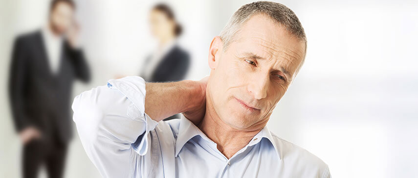 Neck Pain and Headaches from Stress
